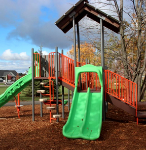 Childrens Park in the Cardinal Creek Neighbourhood
